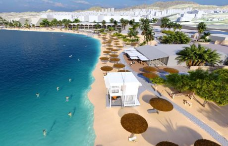 אושרה תוכנית הפיתוח והשיקום של רצועת החוף של אילת