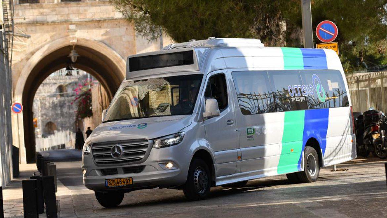 """החלפת משמרות בשירות התחבורה הציבורית ב""""אשכול מרכז ירושלים"""""""