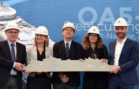 רויאל קריביאן: החלו העבודות לבניית האנייה החמישית מסדרת אואזיס