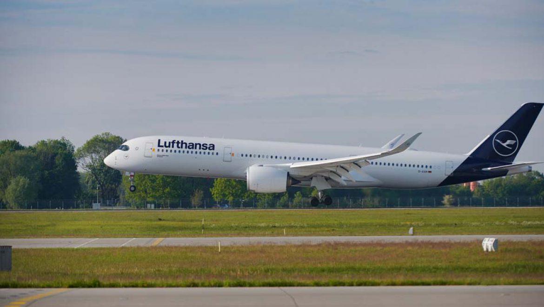 לופטהנזה תציב 4 מטוסי איירבוס A350-900s ברכזת פרנקפורט