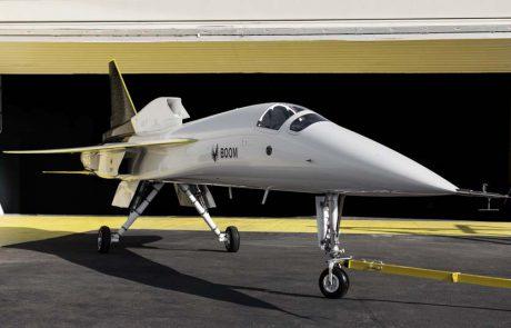 בום סופרסוניק עושה היסטוריה עם השקת XB-1 – מטוס נוסעים על קולי