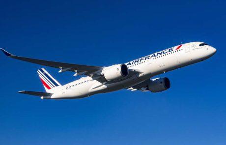 אייר פראנס תציב מטוסים רחבי גוף בקו לתל אביב
