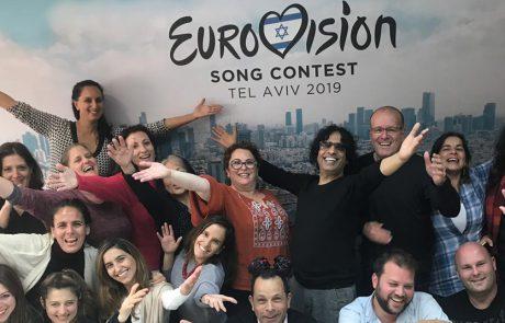 יגאל רביד ויזהר כהן חוגגים את פורים בסימן אירוויזיון