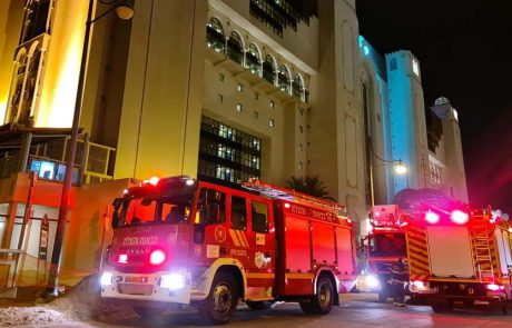 שריפה במלון הרודס אילת: האירוע הסתיים ללא נפגעים