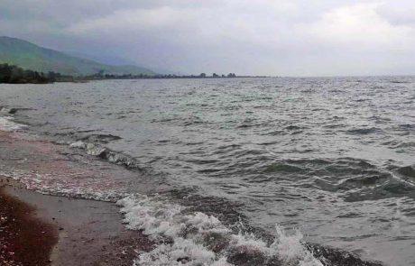 נחת – הכינרת מתמלאת, עצב – חופים ריקים