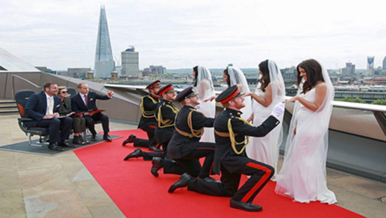 איזי ג'ט: הזוכים בתחרות הוד כפילותם לרגל האירוע המלכותי
