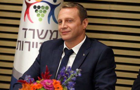 """""""הודעת שר התיירות, יואל רזבוזוב תאפשר הצלת חלק מתנועת החורף"""""""