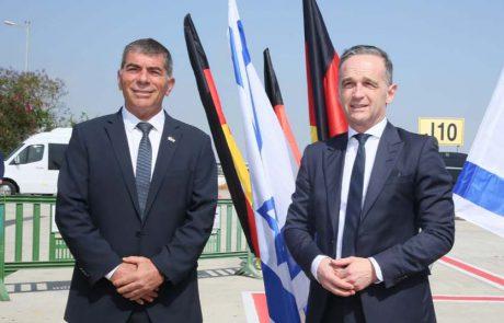 רכבת שרי החוץ הגיעה לישראל