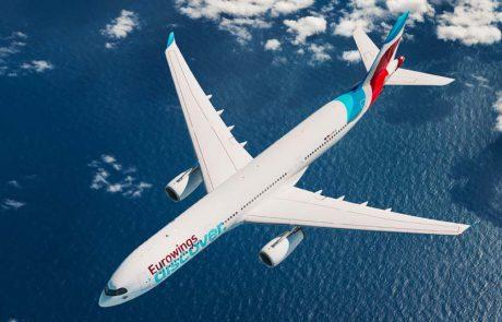 חברת התעופה יורוווינגס דיסקבר השיקה את טיסת הבכורה