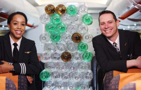 איזי ג'ט: מדים חדשים מבקבוקי פלסטיק ממוחזרים