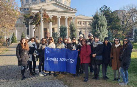 קבוצת סיגנל טורס ערכה סיור לימודי לעובדיה בברלין ובוקרשט