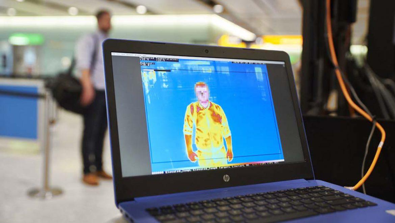 נמל התעופה לונדון הית'רו משיק פיילוט לסינון תרמי