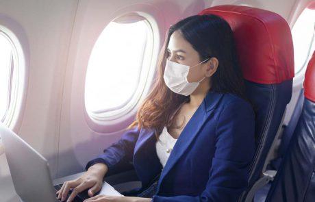 """""""מתחילת השנה דווח על 44 מקרי הדבקה של קורונה במטוסים"""""""