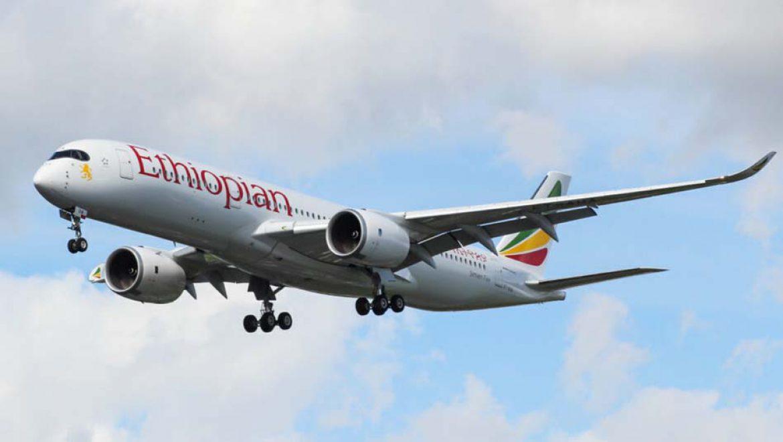 """אתיופיאן איירליינס חידשה את הטיסות הסדירות מנתב""""ג לאדיס אבבה"""