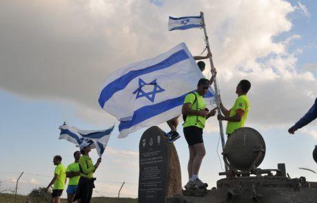 מרוץ האנדרטאות ביום הזיכרון: השנה חולקים כבוד באנדרטאות צפון הגולן