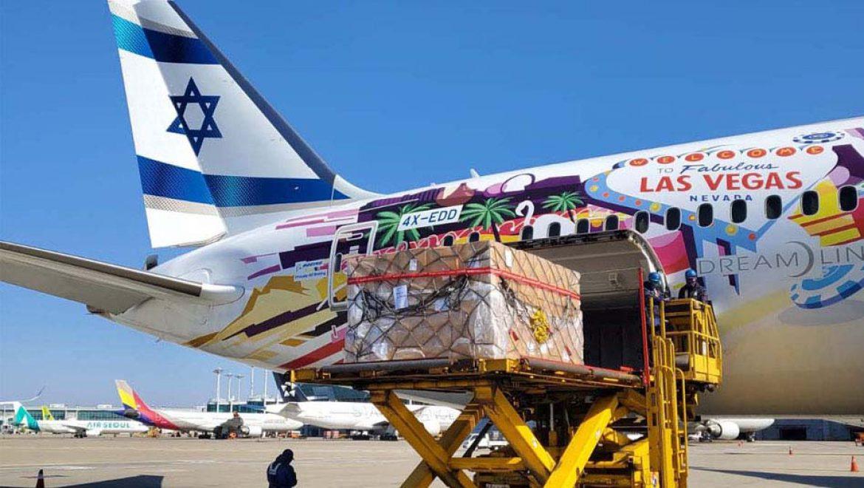 משלוח חיוני לבדיקות קורונה עושה את דרכו לישראל