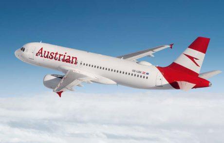 אוסטריאן איירליינס מחדשת את פעילות הטיסות מישראל