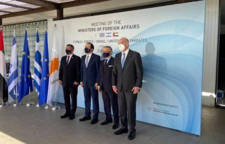 מלון Almyra אירח את מפגש הפסגה ישראל- קפריסין- יוון-האמירויות