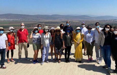 סיור מורשת וטבע לשגרירים ודיפלומטים של מדינות זרות