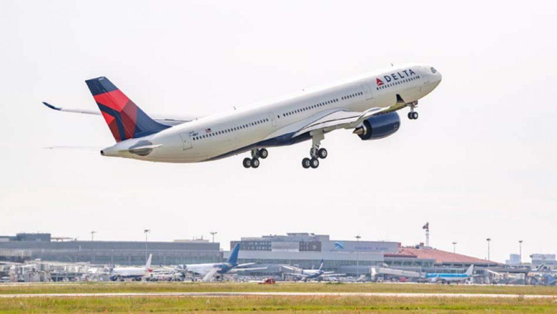 מטוס חדיש לחברת דלתא איירליינס בקו ניו יורק – תל אביב