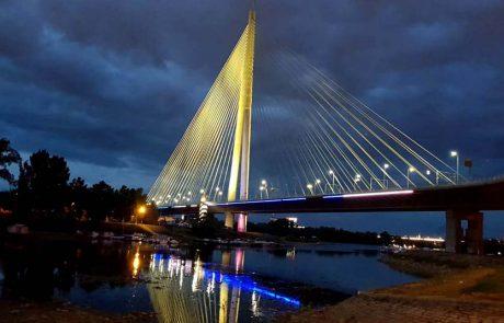 בלגרד בירת סרביה מצדיעה למדינת ישראל