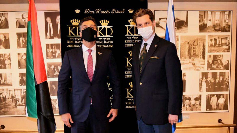 """מלון """"המלך דוד"""" ירושלים מארח את שגריר איחוד האמירויות בישראל"""