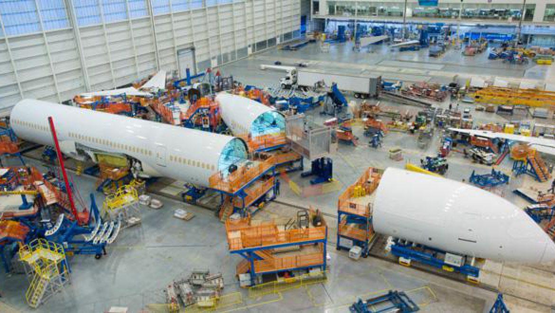 בואינג 787-10 : שלבים סופיים בהרכבה