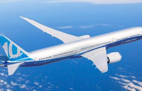 מטוס בואינג 787-10 השלים בהצלחה את טיסת הבכורה