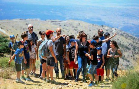 טבע, מורשת וגיאופוליטיקה: חוגגים שבועות באתר החרמון