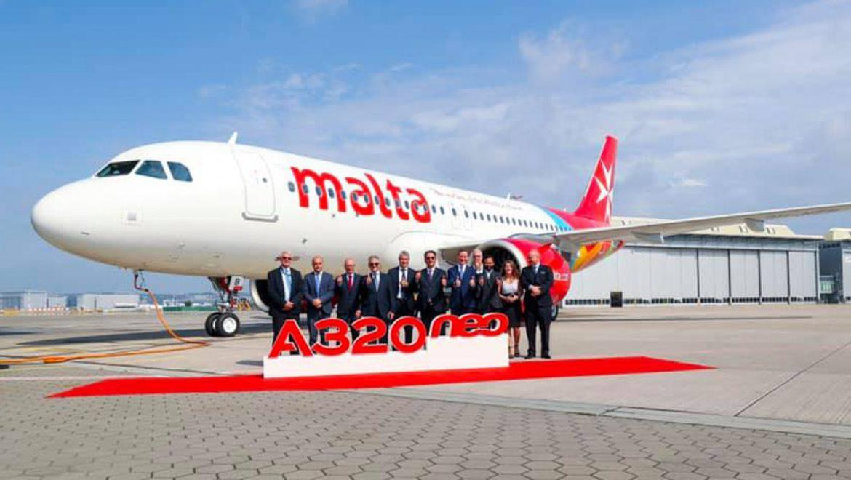 מטוס איירבוס A320neo שני הצטרף לצי מטוסי אייר מלטה