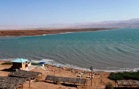 חוף ביאנקיני: ים המלח, שמש ובוץ שחור ללא הגבלה