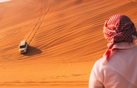 אבו דאבי השיקה תוכנית נהיגת שטח מדברי לנהגים מכל הרמות