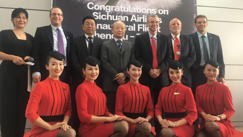 חברת התעופה סצ׳ואן איירליינס הסינית נחתה בישראל