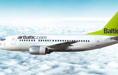 אייר בלטיק עוברת לשלוש טיסות שבועיות