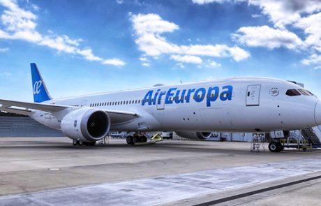 מטוס החלומות דרימליינר ראשון לאייר אירופה