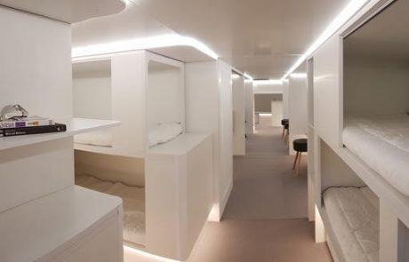 איירבוס מתכננת להתקין דרגשי שינה לנוסעים בתאי המטען