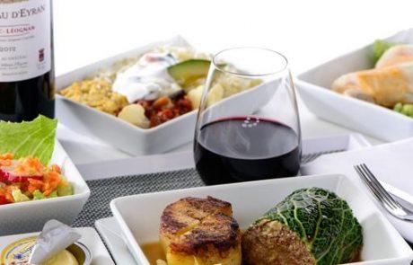 שף מישלן בטיסות בריסל איירליינס