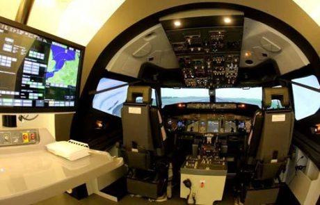אל על חנכה מדמה טיסה מדגם בואינג 737