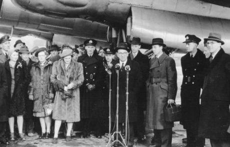 70 שנה לנמל התעופה לונדון הית'רו