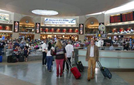 """700-800 אלף נוסעים צפויים בנתב""""ג בחופשת הפסח"""