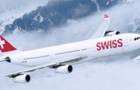 SWISS תחדש את תאי הנוסעים במטוסים הטסים לישראל