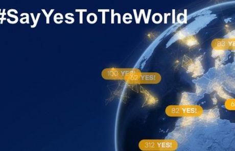 """הקמפיין החדש של לופטהנזה: """"תגידו כן לעולם"""""""