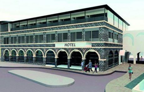 הופקדה תוכנית לבניית מלון חדש לצליינים בטבריה