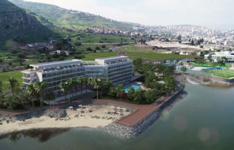 היסטוריה בטבריה: אושרה הקמתו של מלון חוף סירונית